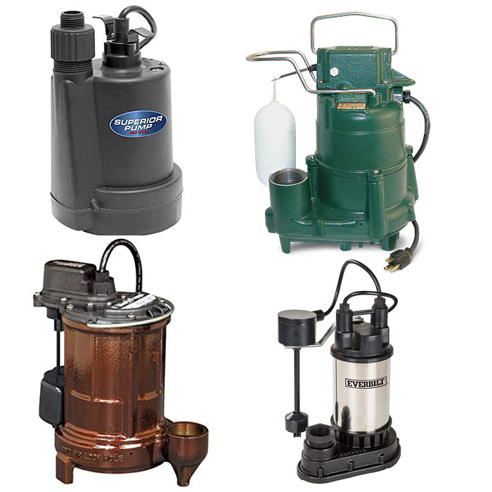 Submersible Sump Pump Housing Materials