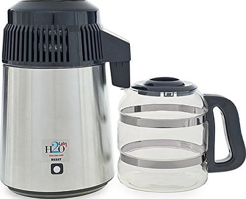 H20 Labs Stainless Steel Water Distiller
