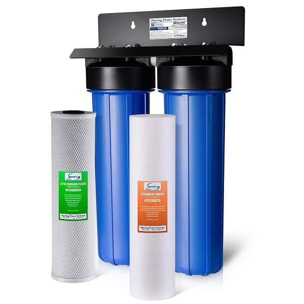 iSpring WGB22B Big Blue Whole House Filter